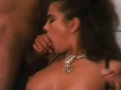 Impudent lady, Angelica Bella is getting two huge dicks at the same time, like a wild whore